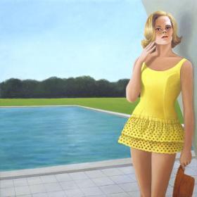 Žluté plavky